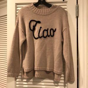 Wild fox ciao Bella sweater